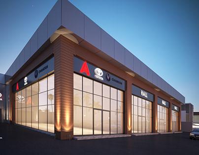 Toyota Multipurpose halls