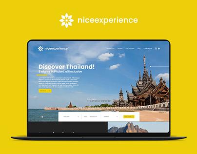 Nice Experience — UI DESIGN