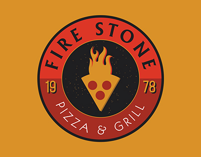 Fire Stone Pizza Branding