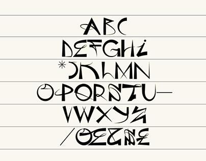 Sophie Anarchy Font