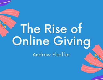 The Rise of Online Giving