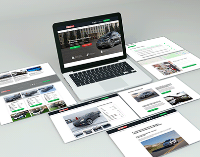 Online shop of electric cars