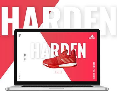 Adidas Web concept