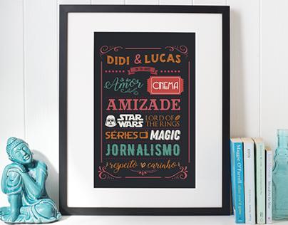 Lettering - Didi & Lucas