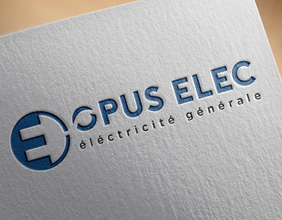 Logotype, Сharte graphique pour Opus Elec