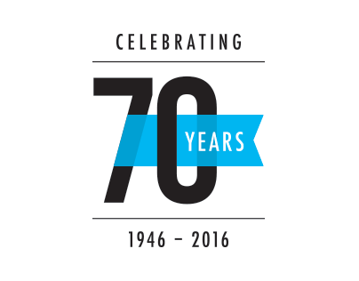 70th Anniversary Logo