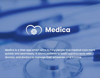 Medica - doctors online booking