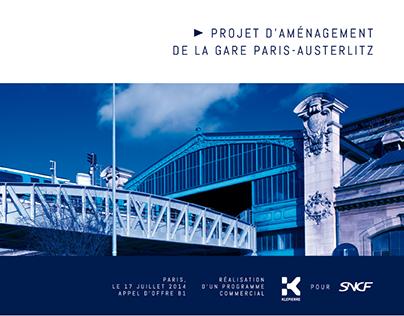 Dossier de présentation d'un projet architectural