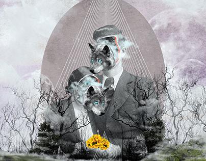 CAMUFLAJE (Digital Collage)
