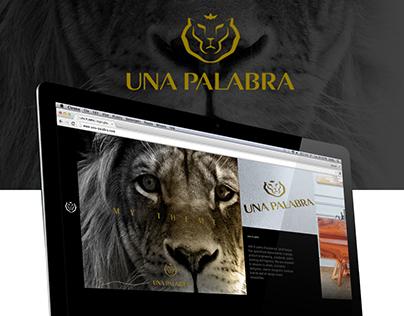 UNA PALABRA Interior & Furniture Design Website
