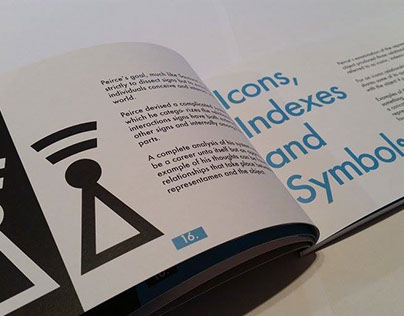 Icon design and booklet editorial design