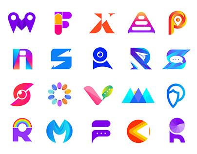 30 different modern minimalist trending logo challenge