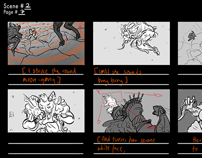 Permadeath Storyboards