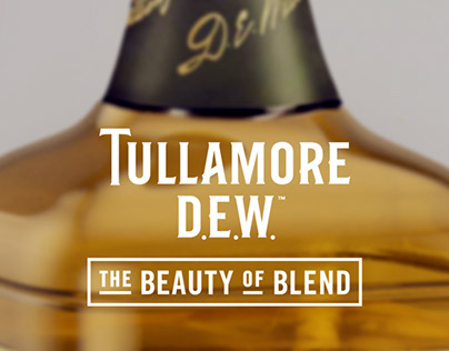 Tullamore Irish Whiskey Promotion Artwork