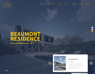 Web design dezvoltator imobiliar Brasov