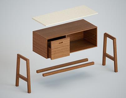 CG furniture