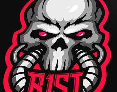 r1st.squad | eSports Logo