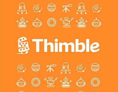 Thimble | package design
