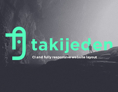 takijeden - CI and fully responsive website layout