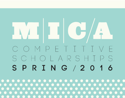 MICA Competitive Scholarships Spring 2016
