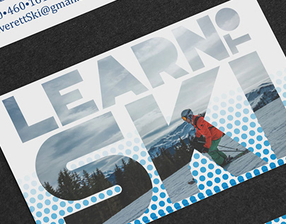 Ski Instructor Business Cards