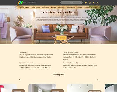 Maynooth Furniture UI Design   Web & App Design