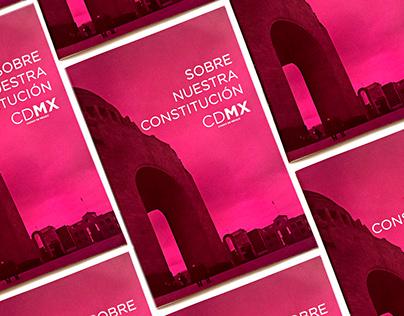 Folleto Proyecto Constitución para la Ciudad de México
