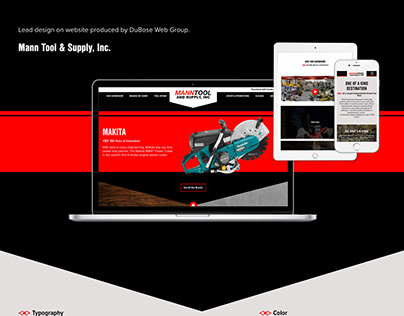 Mann Tool & Supply Website Design