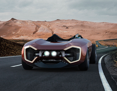 O_TRY Track car concept