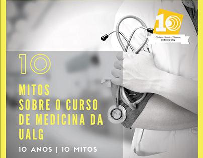 10 Anos - 10 Mitos - Medicina UAlg
