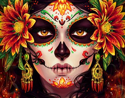 Commission: Dia De Muertos
