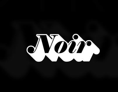 Noir Talent Agency Branding