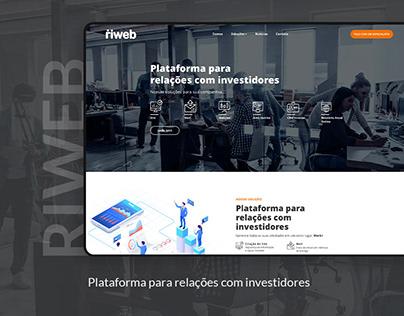 Riweb - Plataforma para Relações com Investidores