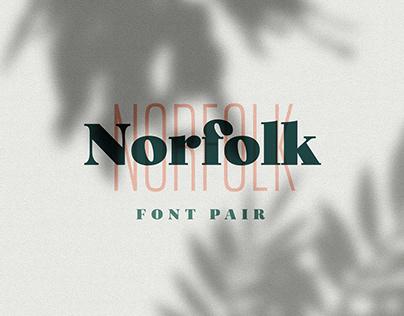 Norfolk Font Pair
