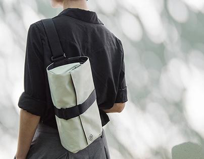 Fasten & Go series - ideal all-purpose Triangle Bag