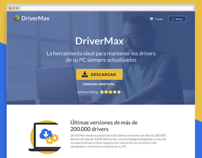 Software Landing - DriverMax
