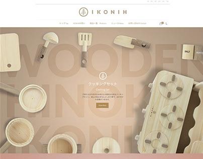 Ikonih Website - Osaka - JP