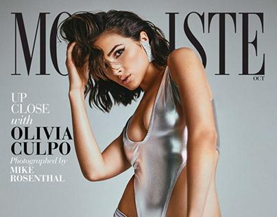 Olivia Culpo for Modeliste Magazine