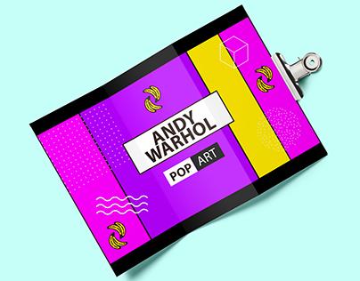Brochure Andy Warhol