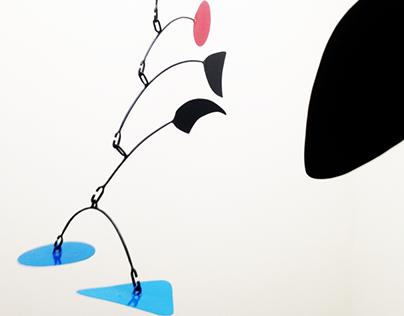 Mobil Sculpture, tribute Calder, by Diego Vergara Lira