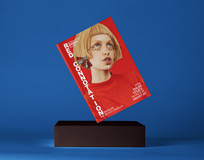 """Red Connotation"" Magazine Design"