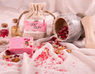 Product Styling - Nykaa Soap Story
