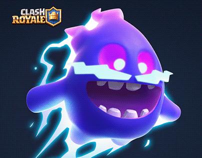 Electro Spirit - Clash Royale