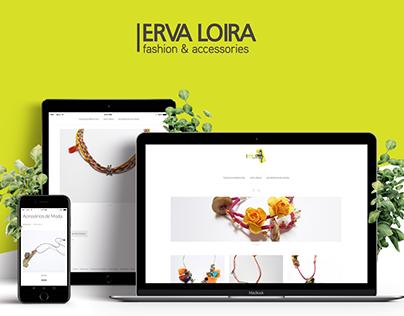 Shop online & social media | Erva Loira