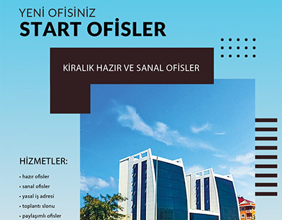 Start offices: Ready and Virtual Offices, istanbu