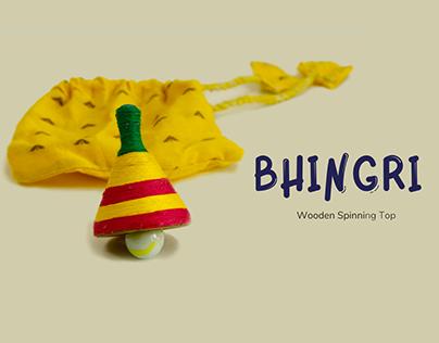 Bhingri - Wooden Spinning Top