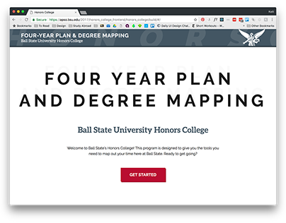 Honors College Four Year Plan & Degree Mapping Tutorial