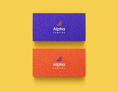 Alpha Camping Branding