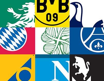 Champions League 2016-2017 Minimalist Posters