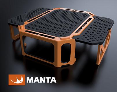 MANTA - Step Subaquático